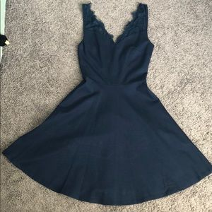 New, Never Worn Soprano Navy Skater Dress